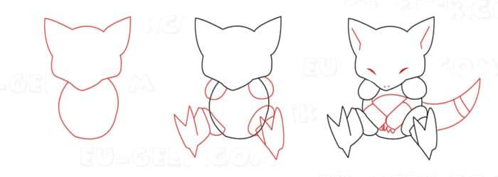 Desenhos De Pokemon Para Desenhar Em Simples Passos Eu Geek